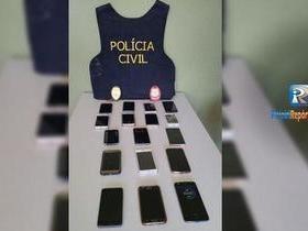 Polícia Civil rastreia, recupera e devolve celulares roubados