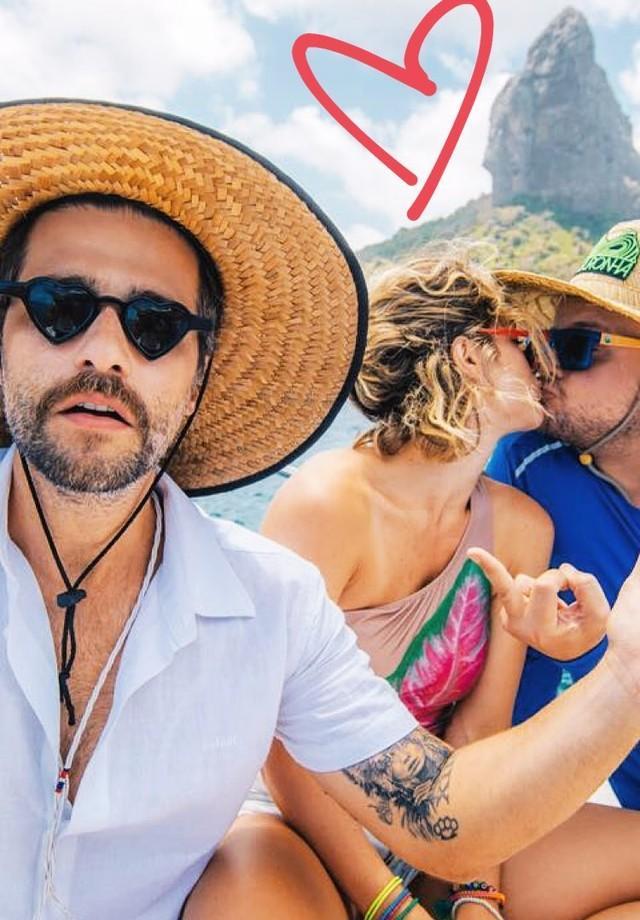 Giovanna Ewbank beija melhor amigo e Bruno Gagliasso posta foto