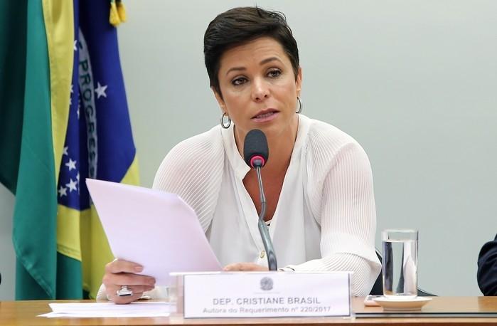Cristiane Brasil (PTB-RJ)  (Crédito: Gilmar Felix/Câmara dos Deputados)