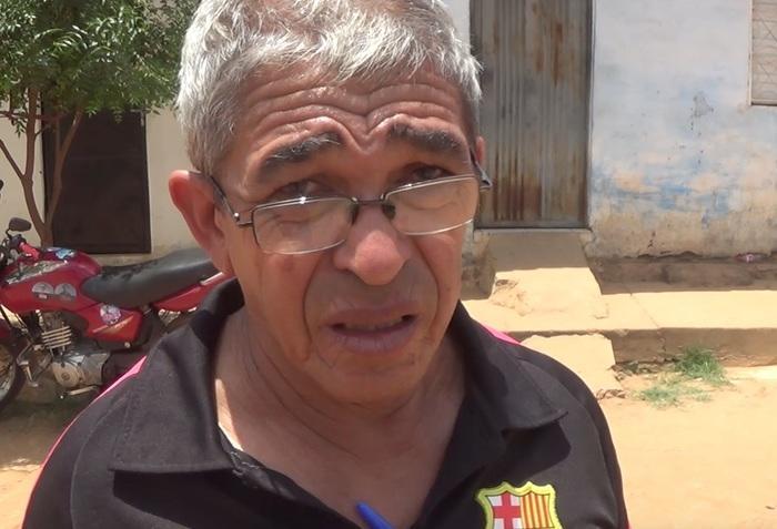 Filho diz que idoso morava sozinho (Crédito: Reprodução/TVMN)