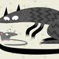 """Estudo ironiza """"Tom e Jerry"""": Gatos são péssimos em caçar ratos"""