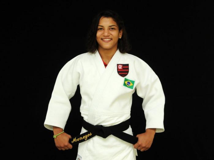 Sarah Menezes conquista o bronze no Campeonato Brasileiro de Judô
