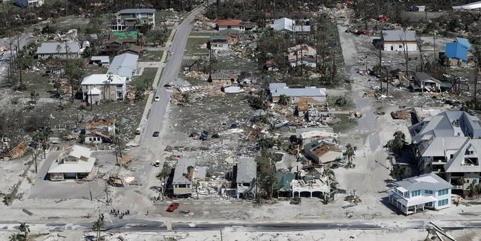 Sobe para 11 o número de mortos pelo furacão Michael nos EUA