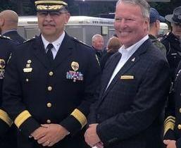 Chefe de polícia da cidade americana Orlando tem nome de Orlando