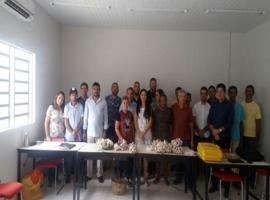 Prefeitura de DEL faz avaliação da produção de Alho Livre de Vírus
