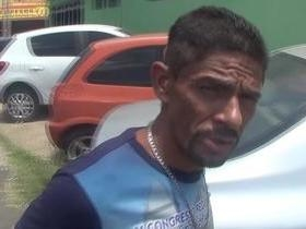 Homem é preso após tentar agredir mãe com pedras na zona Norte