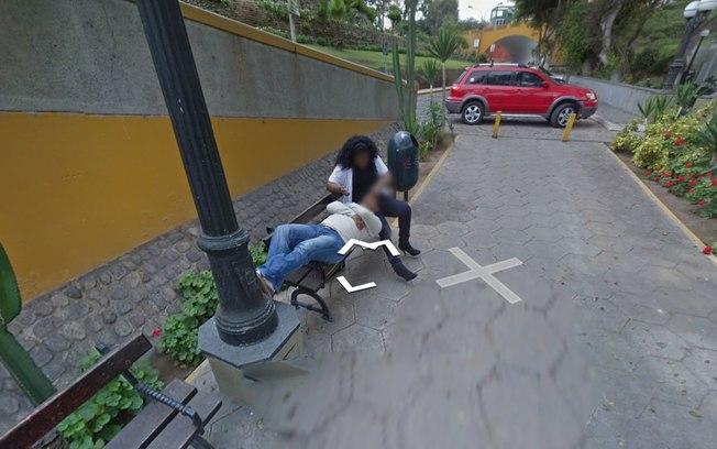 Mulher flagrada traindo o marido (Crédito: Reprodução/Google)
