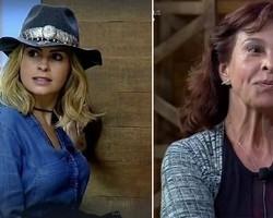 Ana Paula abandona gravação do Porchat após briga com Vida Vlatt