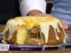 Revista MN: aprenda uma receita de bolo explosão de banana; veja