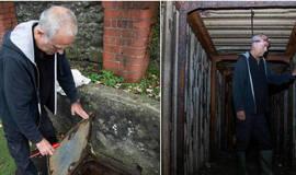 Abrigo secreto da Segunda Guerra mundial é descoberto em escola