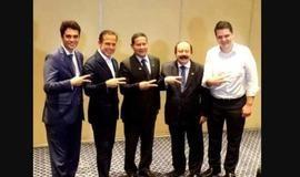 Após foto com Doria, PSL diz que Mourão só atrapalha Bolsonaro