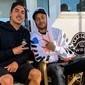 Neymar prestigia Medina em meio a boatos de volta ao Barça