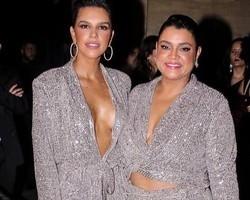 Mariana Rios e Preta Gil vão para evento de moda com a mesma roupa