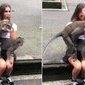 Macacos fazem sexo no colo de turista na Indonésia; vídeo
