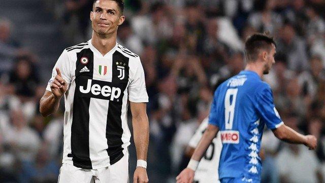 Cristiano Ronaldo foi acusado de estuprar uma norte-americana em 2009  (Crédito: MARCO BERTORELLO / AFP)