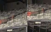 Casal é flagrado fazendo sexo em arquibancada no estádio Mineirão
