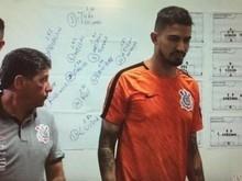 Vestiário de Jair Ventura no Corinthians tem