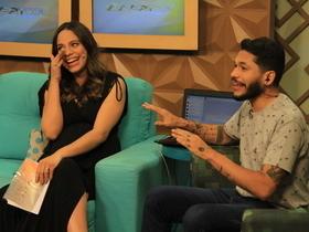 Raquel Dias recebe homenagens ao sair para sua licença maternidade