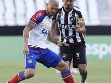 Bahia bate o Botafogo e se afasta da zona de rebaixamento