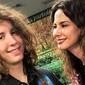 'Meu baby', Gimenez mata saudade do filho em show de Shakira