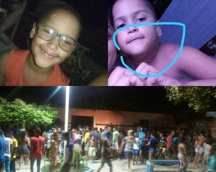 Duas crianças são mortas durante tiroteio no Maranhão (Crédito: Reprodução)