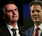 Ibope mostra Bolsonaro tem 57% e Haddad, 43% dos votos válidos