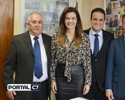 Diego Teixeira e Júnior Bill se reuniram com Iracema Portella