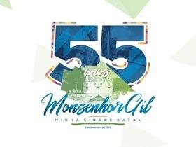 Monsenhor Gil se prepara para festejar seus 55 anos