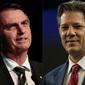 Bolsonaro tem 55% e Haddad, 45% dos votos válidos, diz Datafolha