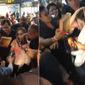 Sandy se assusta com reação de fã em tumulto em Recife; veja vídeo