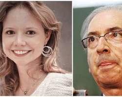 Eduardo Cunha endossar apoio de sua filha a Bolsonaro.