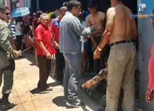 Mecânico tem corpo queimado após explosão no interior do Piauí