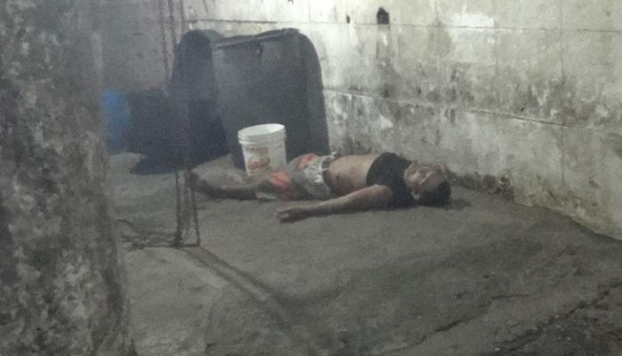 Homem foi morto com golpe na barriga (Crédito: Reprodução/TVMN)