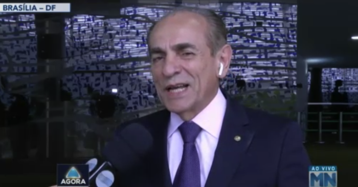 Marcelo Castro em entrevista ao Agora  (Crédito: Rede Meio Norte)