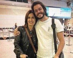 """Tulio posta antes de embarcar com Fátima: """"Serão 16 dias com ela"""""""