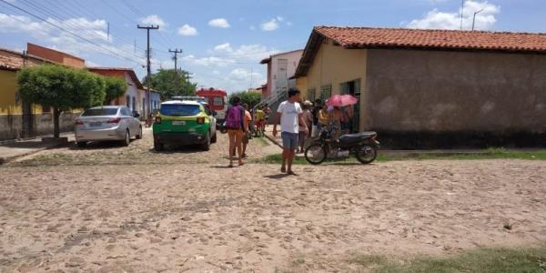 O bandido morreu no local  (Crédito:  Divulgação)