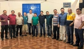 Base convoca Prefeito Roger Linhares e em reunião reafirma apoio