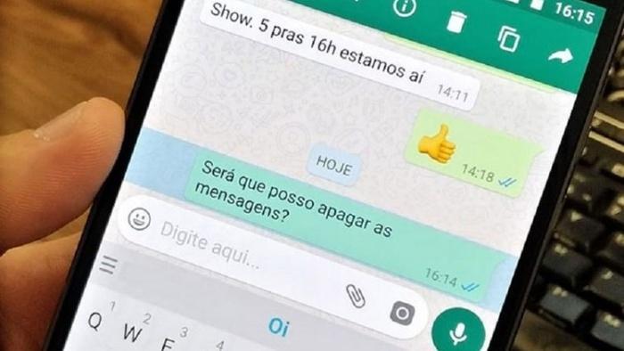 WhatsApp  (Crédito: Divulgação/WEB)