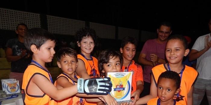 Final do I Campeonato de Futsal Escolinha Estação de Craques.
