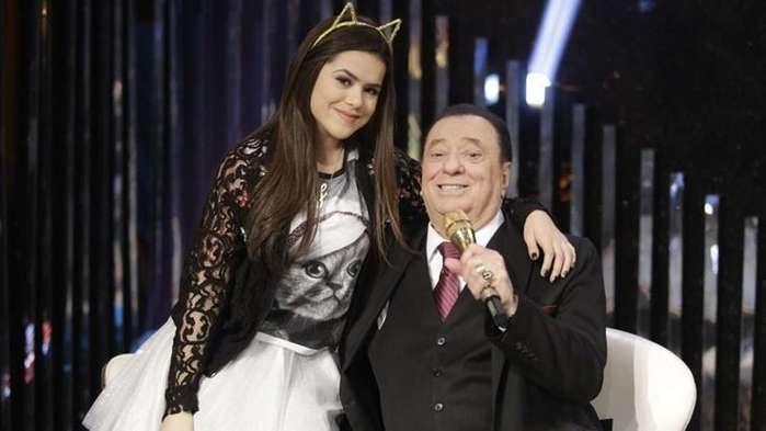 Maisa Silva e Raul Gil (Crédito: Reprodução/Internet)