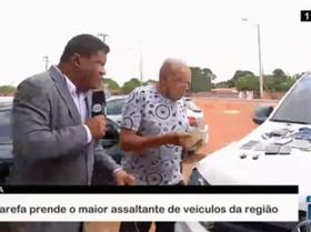 Força Tarefa prende maior assaltante de veículos do Piauí e MA