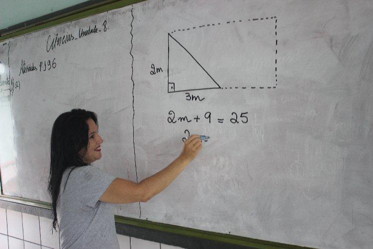 Professora Iana Pessoa (Crédito: Joelson Oliveira)