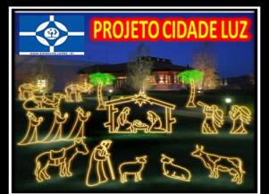 Acender das Luzes de DEL será sábado 01/12