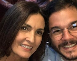 "Fátima Bernades completa 1 ano de namoro: ""Intenso"""