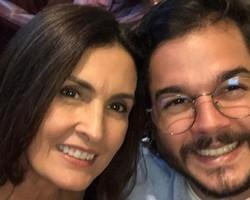 """Túlio posta  foto ao fazer 1 ano com Fátima: """"Cada vez mais fortes"""""""