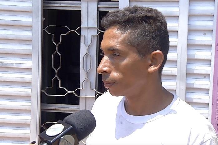 Francisco das Chagas, pai da adolescente (Crédito: Reprodução/TVMN)