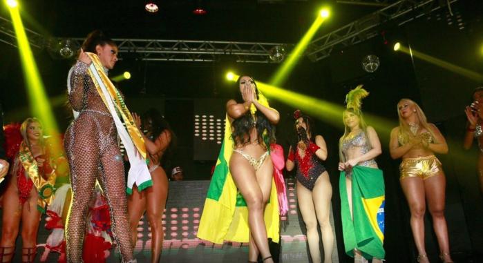 Ellen Santana, representante de Rondônia, é eleita Miss Bumbum 2018 (Crédito: Reprodução/ Iwi Onodera/UOL )