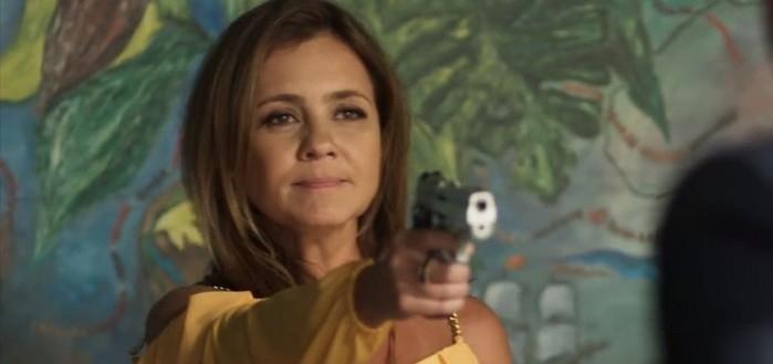 """""""Laureta Botini"""" por Adriana Esteves  (Crédito: Divulgação/TV Globo)"""