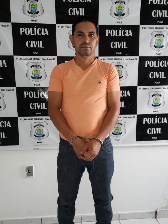 Jadir dos Santos Rodrigues (Crédito: Divulgação/Polícia Civil do Piauí)