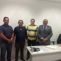 Secretário de administração participa de audiência com Eletrobras